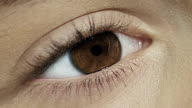 Close-up of woman's eye.