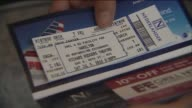 WPIX Closeup Shot of The 'Hamilton' Musical Ticket