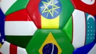Close-Up World Cup Soccer Ball