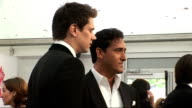 London concert backstage Il Divo speaking to media