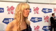 London concert backstage Liz McClarnon interview SOT Talks of new record deal and writing a book / talks of her style of music / talks of her new...