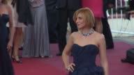 Clotilde Courau at the Cannes Film Festival 2009 Looking for Eric Red Carpet at Cannes