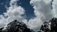 Cloud Formation Time Lapse Above the Grand Tetons