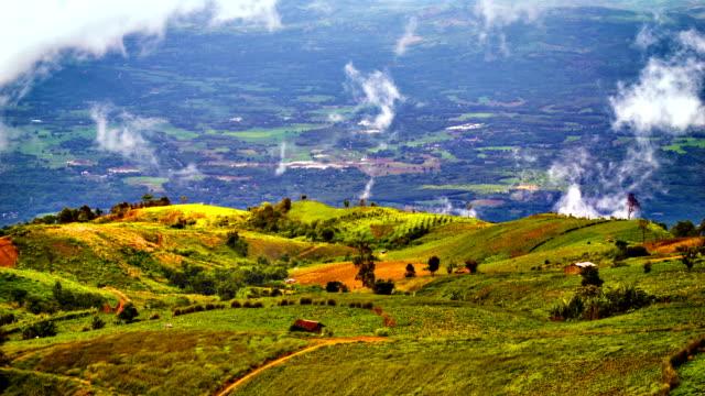Cloud grow in mountain