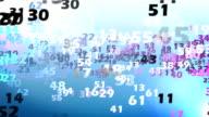 Cloud di numeri