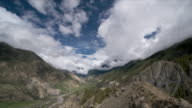 T/L cloud over Yak Kharka Valley, Himalayas