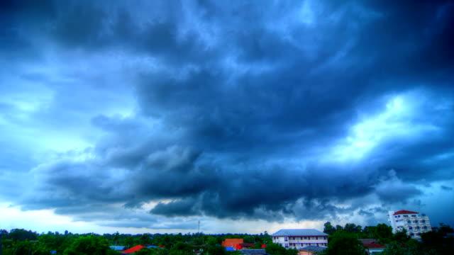 Cloud rain Time Lapse (HDR)