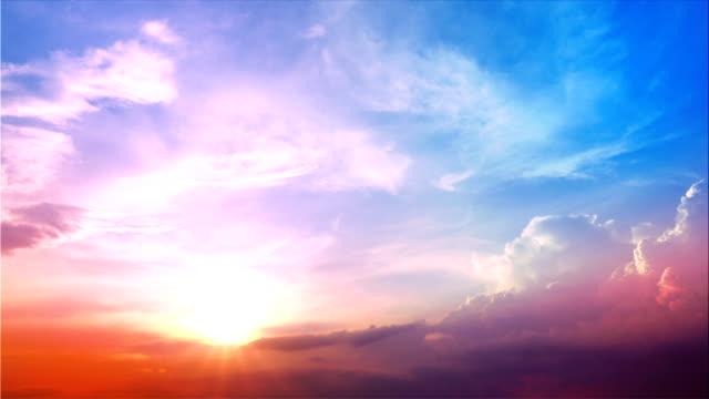 Cloud hemel time-lapse 4K video