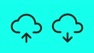 Cloud Storage - Vector Animate