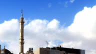 clouds and mosque