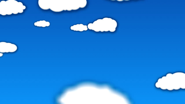 Clouds animation -moving to the left