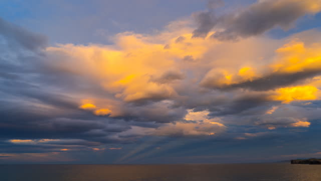 Clouds in Cantabrian sea