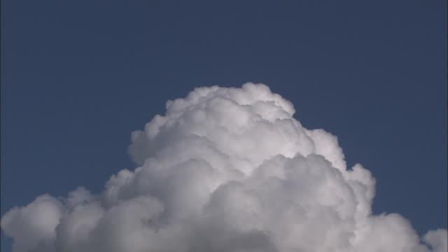 Clouds In Early Autumn In Hokkaido