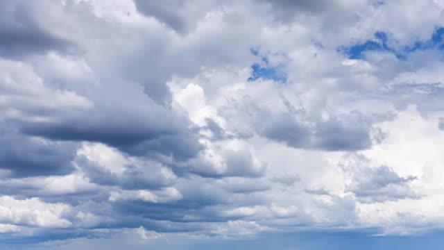 WS T/L Clouds moving over Kasanka National Park / Serenje, Kansaka, South Africa