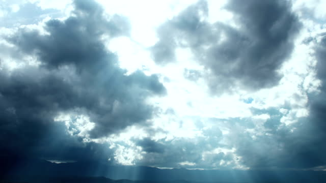 Clouds over Mountains Timelapse
