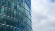 Wolken sich in Glas-HD