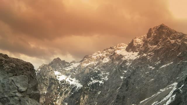 HD: Cloudscape Over European Alps