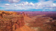 T/L 8K Cloudscape over the Canyonlands National Park
