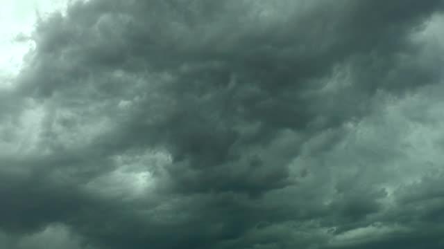 Wolkengebilde Zeitraffer