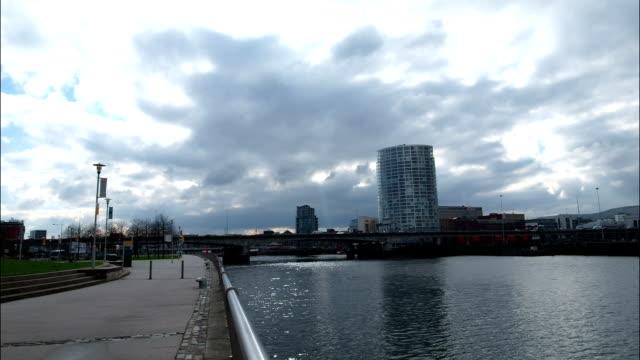 cloudy Belfast