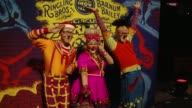 """ATMOSPHERE Clowns at Ringling Bros and Barnum Bailey Presents """"Circus XTREME"""" in Los Angeles CA"""