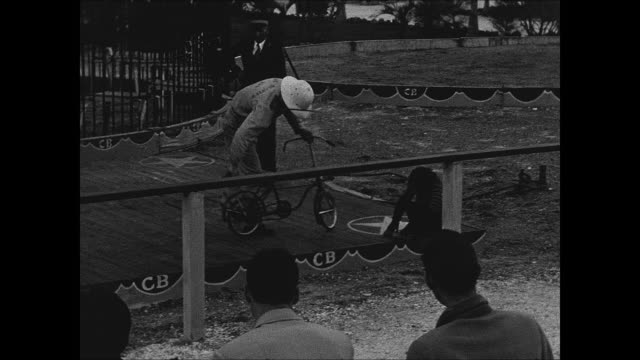 1941 Clyde Beatty Circus rough footage