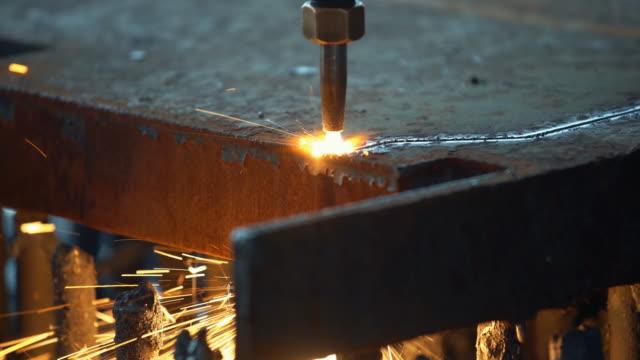 CNC-Brennschneidmaschine.