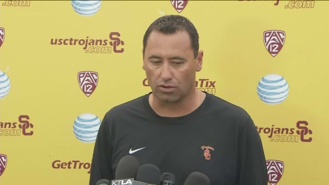 Coach Steve Sarkisian on August 252015 said his behavior at a booster event last weekend resulted from mixing alcohol and an unspecified medication...
