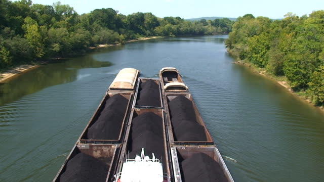 Trasporto del carbone e dell'acciaio