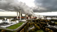 AERIAL : Coal fired power station