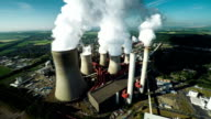 AERIAL: Coal fired power station