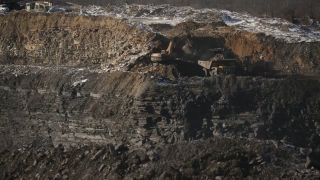 Coal is mined at Arch Coal Incs Vindex surface mine in Frostburg Maryland US on Wednesday January 13 2016 Arch Coal filed for Bankruptcy on Monday...