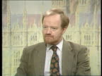 Westminster CMS Robin Cook MP intvwd SOT White paper is exposed as a fraud / we will demand that the 'rebel' Tory MPs back us in the House CMS Tim...