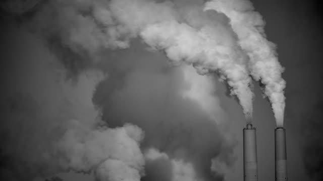 Coal Power Black & White HD