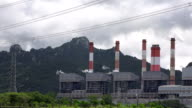 WS:coal-fired power plant in northern Thailand.