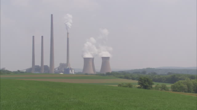 WS ZI Coal-fired Power Plant / Pittsburgh area, Pennsylvania, USA