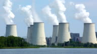 Kohle befeuerte Kraftwerk