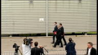 Coalition Cabinet 'away day' to Bradford ministers arriving Different angle view Clegg and Cameron arriving Different angle view Duncan Smith...