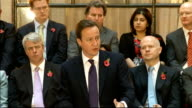 Coalition government publishes 'accountability' plans for Whitehall departments speeches by David Cameron and Nick Clegg David Cameron MP speech SOT...