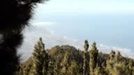 Coastal line of Tenerife