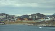 Coastal View Of Greenland's Capital