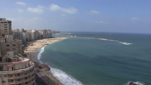 WS HA Coastline and beach, Montazah district, Alexandria, Egypt