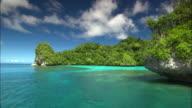 Coastline, Rock Isle Travel, Palau, South Pacific