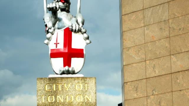 TU Stadtwappen von der Stadt Der London (Londoner 4 k UHD zu/HD