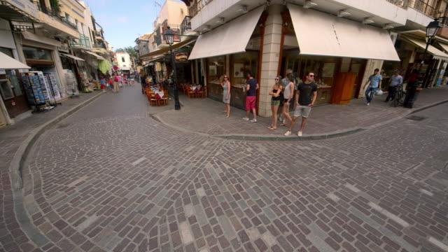 Cobbled Shopping Street