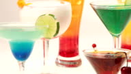 Cocktails Cocteles en movimiento