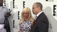 Coco and IceT at E Upfront 2012 at Gotham Hall on April 30 2012 in New York New York