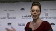 INTERVIEW Coco Rocha on amFAR and being pregnant at 2015 amfAR New York Gala at Cipriani Wall Street on February 11 2015 in New York City