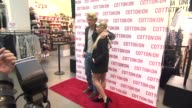 Cody Simpson and Alli Simpson at Cody Simpson Celebrates 'I Give A Brick' Campaign At Cotton On at Cotton on USA on December 16 2014 in Santa Monica...