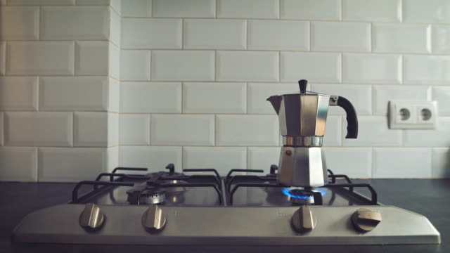 Coffe on stove